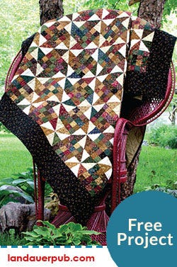"""""""I Heart Quilts"""" Wall-hanging Free Pattern Project"""
