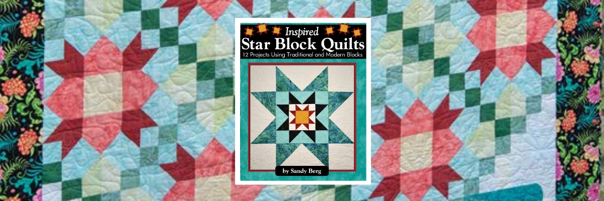 "QUILT BOOK OFFERS DO-ABLE STAR BLOCK PROJECTS AND IDEAS FOR ""QUILTS OF VALOR"""