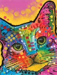Dean Russo Tilted Head Cat Journals