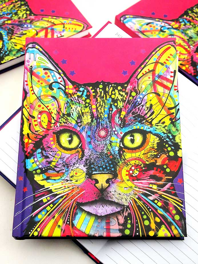 Dean Russo Shiva Cat Journals