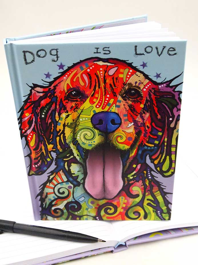 Dean Russo Dog is Love Journals
