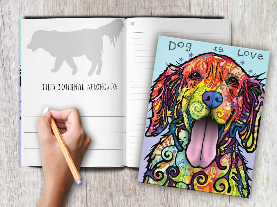 Dean Russo Dog is Love Journal
