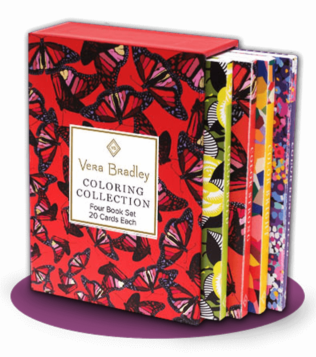 Vera Bradley Coloring Book Box Set