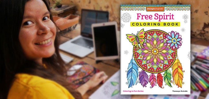 Coloring Book Artist and Full Time Nomad