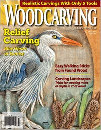 Woodcarving Illustrated Magazine Cover