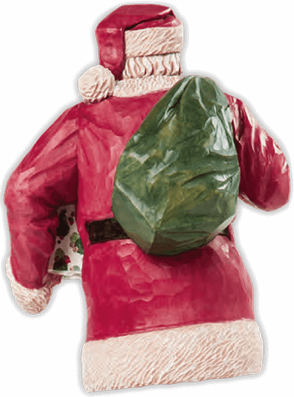 Carve a Realistic Santa Toy Sack