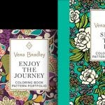 Vera Bradley Designs Coloring Book Set