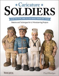 Wood Carver - Caricature Soldiers: From the Civil War to the World Wars and Today