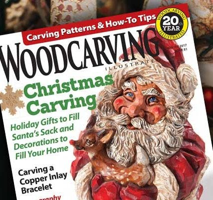 Santa Shelf Sitter - Woodcarving Illustrated