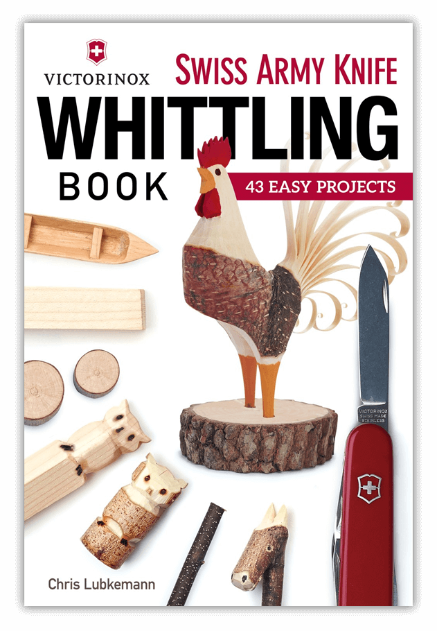 Victorinox Swiss Army Knife Whittling Book - Do you want to whittle?