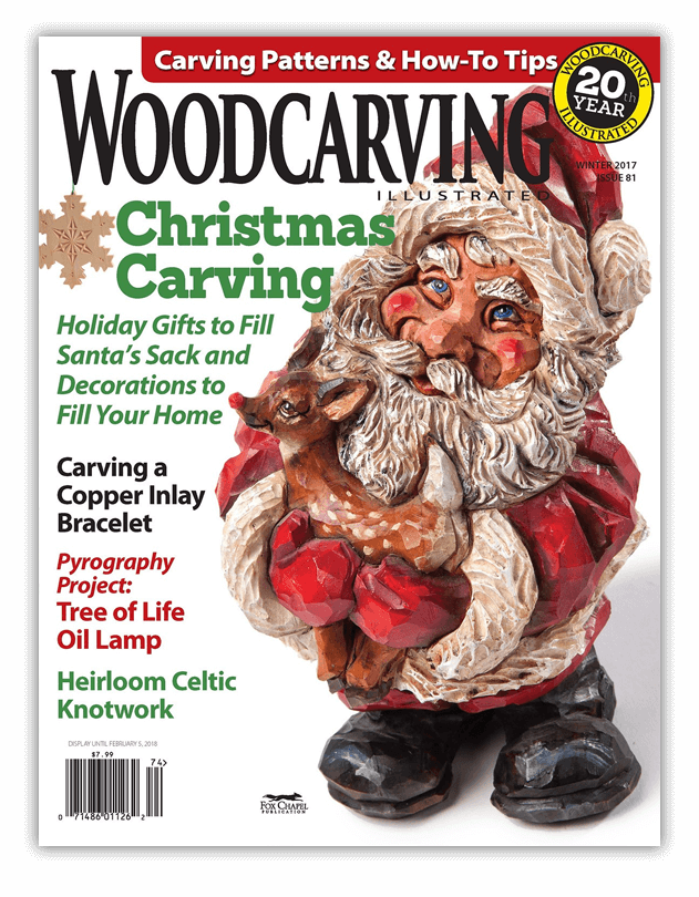 Woodcarving Illustrated Issue 81