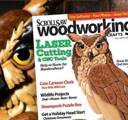 Scroll Saw Woodworking & Crafts Issue 52