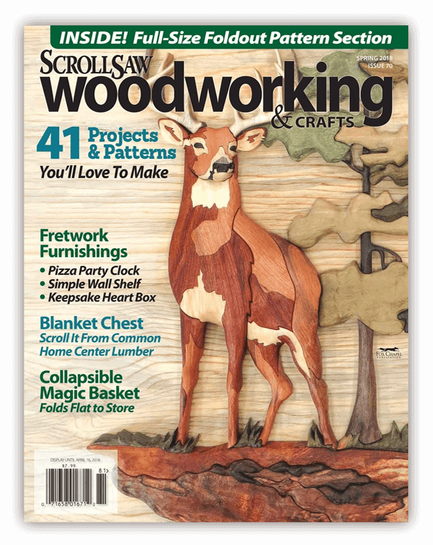 Scroll Saw Woodworking Magazine Issue 70