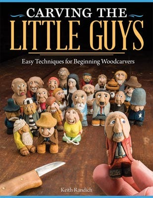 Wood Carving the Little Guys
