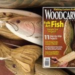 Wood Carving a Fish