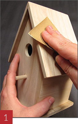Wood Burning a Birdhouse - Step 01