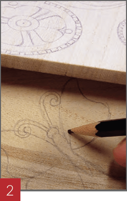 Wood Burning a Birdhouse - Step 02