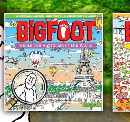 BigFoot Search and Find Children's Books