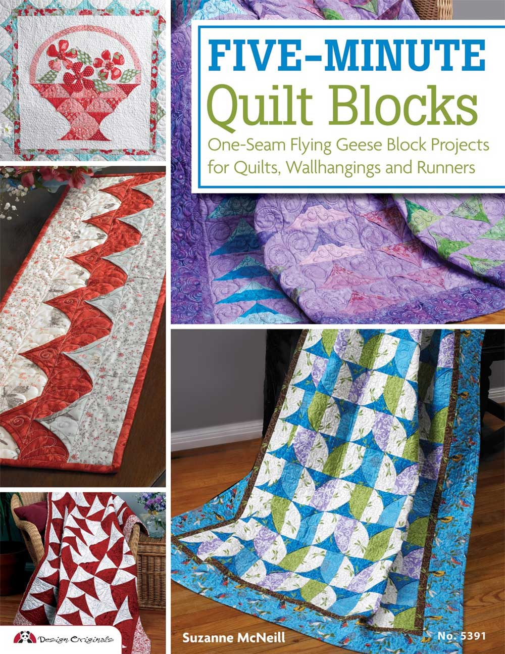 Five-Minute Quilt Blocks - Quilting Books