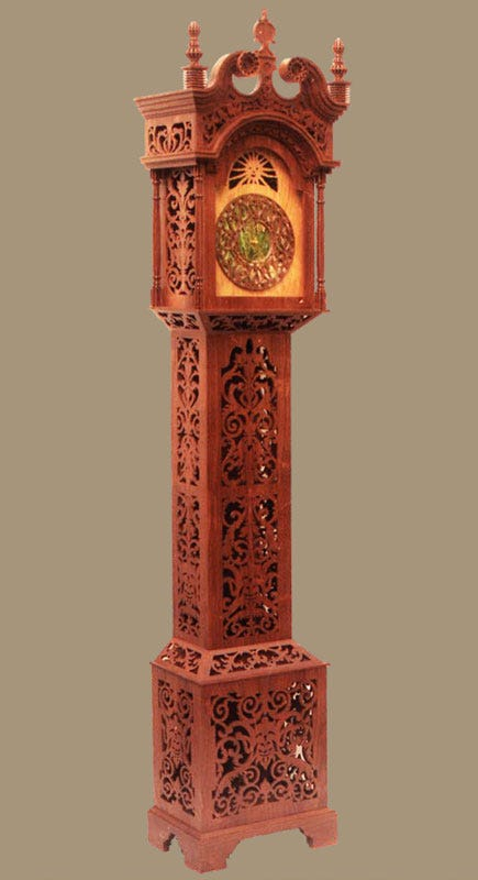 Normandy Grandfather Clock Pattern