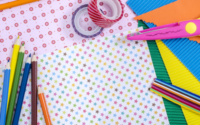 Summer crafts that are little mess but lots of fun!
