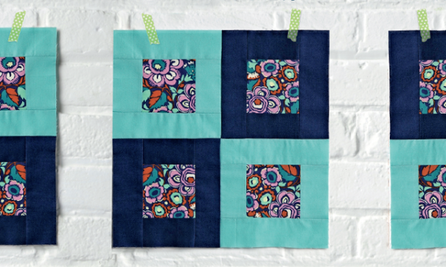 Showcase your Favorite Fabric with this Free Quilt Block Pattern