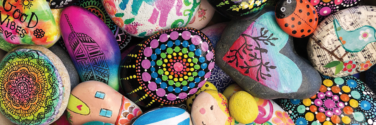 Brighten Your Day with a DIY Mandala Dot Rock Painting