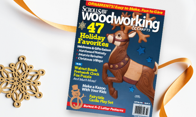 Sneak Peek at the Winter Scroll Saw Woodworking & Crafts Magazine