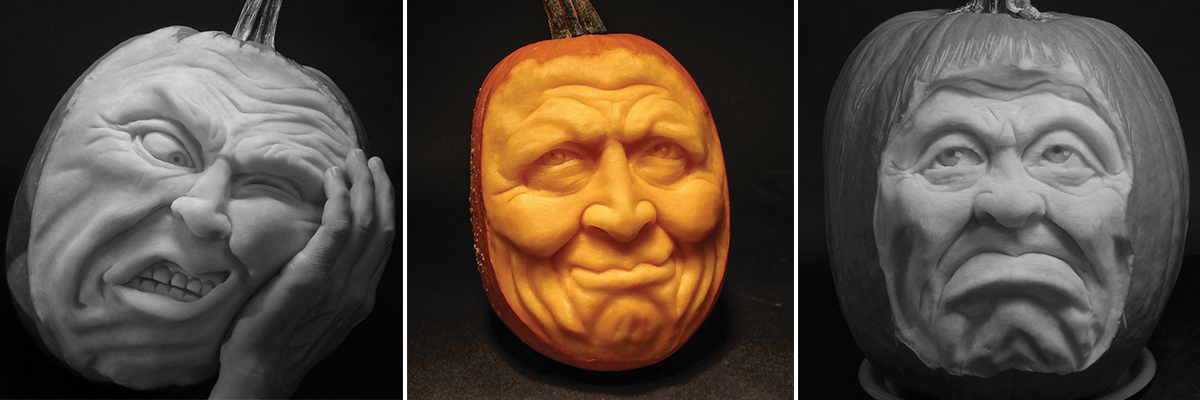 How to Carve a 3D Pumpkin: Uncle Gourdy Tutorial