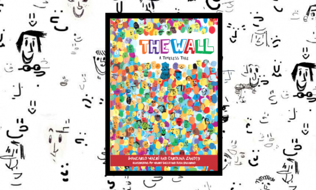 NEW CHILDREN'S BOOK SHOWS THAT A WALL LEADS TO A DIVIDED KINGDOM