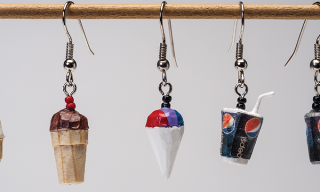 Ice Cream Earrings: A Whittling Project Treat