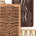 Free Patterns for Scroll Saw – Casserole Dish-Sized Trivets