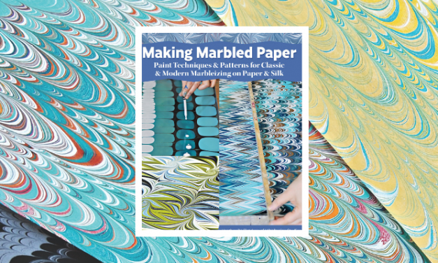 NEW PAPER MARBLING BOOK — FIRST OF ITS KIND — BY MINNESOTA CENTER FOR BOOK ARTS TEACHER