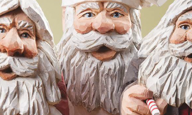 Undercover Santas: Wood Carving Designs