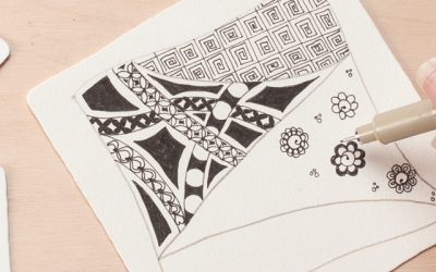 Author Spotlight: Zentangle Teacher Brian Crimmins, CZT