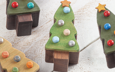 Scroll Saw Projects for Holiday Gifts