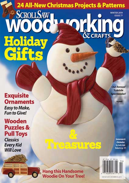 Scroll Saw Woodworking & Crafts Issue 77 Winter 2019