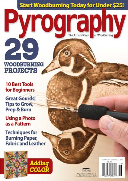 Pyrography Magazine Volume 3 2013