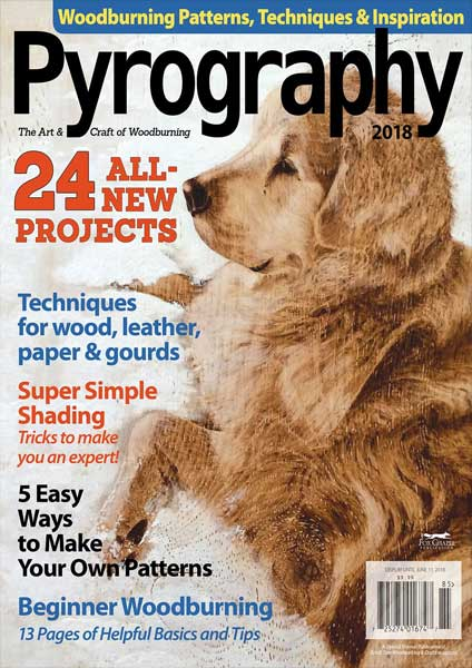Pyrography Magazine Volume 6 2018