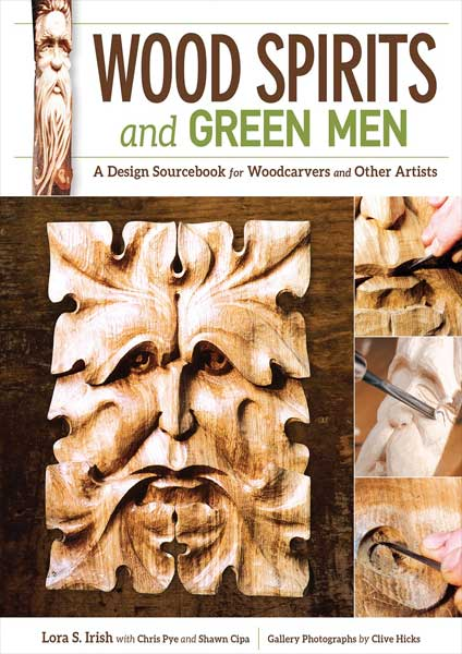 Wood Spirits and Green Men by Author Chris Pye