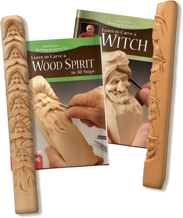 Wood Carving Study Sticks
