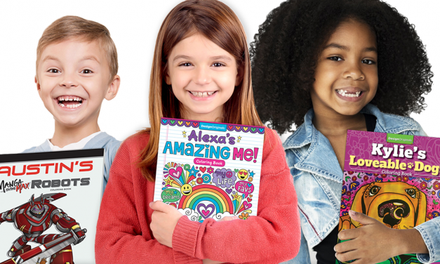 Fox Chapel Introduces Personalized Coloring Books