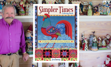 Gift Industry Icon Jim Shore Launches Coloring Book