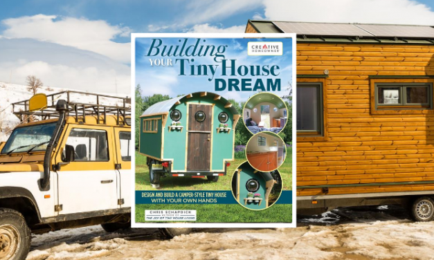 Tiny Home Expert Pens Second Book with Fox Chapel Publishing