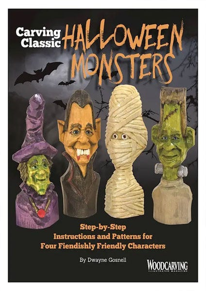 Carving Classic Halloween Monsters by Dwayne Gosnell