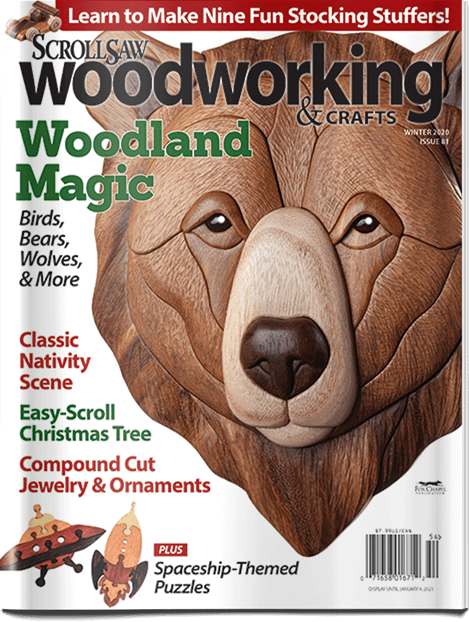 Scroll Saw Woodworking & Crafts Issue 81 Winter 2020
