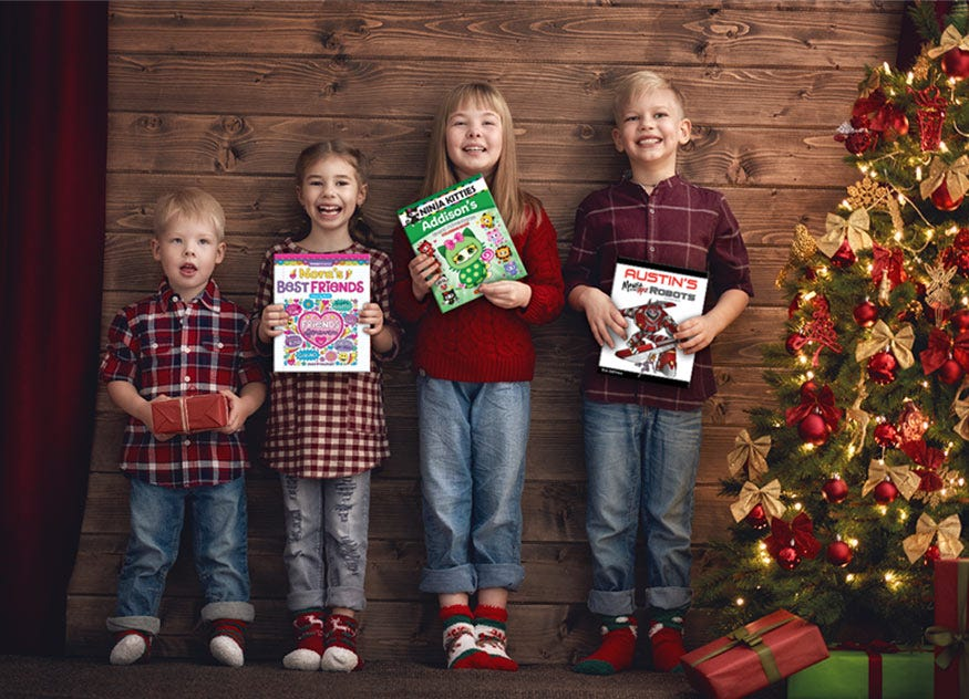 Kids Personalized with Coloring Books