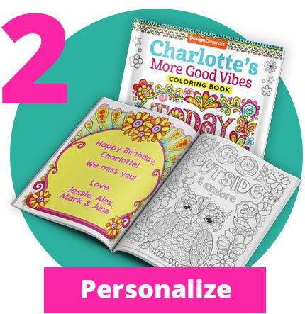 Personalized Coloring Books Step 02