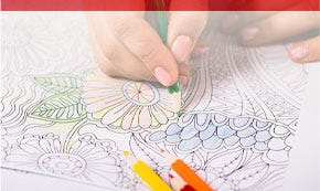 Children's and Adult Coloring Books