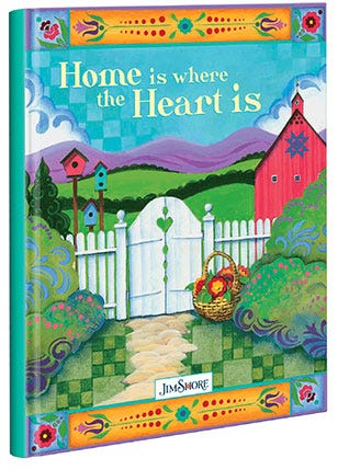 Jim Shore Home Is Where The Heart Is Journal